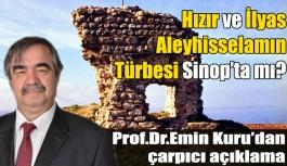 Hızır ve İlyas Peygamberin türbesi Sinop'ta...