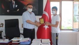 LGS İlçe 2'incisi Haşim ve Zehra Tarı...