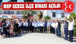 MHP Gerze İlçe Teşkilat Binası Açıldı