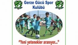Gerze Gücü Spor Kulübü'nden seçmelere...