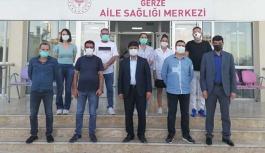 Sağlık Müdürü Reyhanlıoğlu, Gerze'de