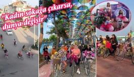 Süslü Kadınlar Gerze'de Pedal Çevirdi
