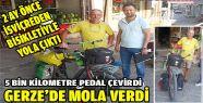 5 Bin Kilometre Pedal Çevirerek Gerze'ye...