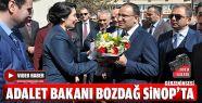 Adalet Bakanı Bekir Bozdağ Sinop'ta