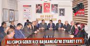 Ak Parti İl Başkanı Gerze İlçe Teşkilatı'nı...