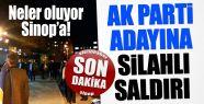 AK Parti milletveki adayına silahlı saldırı
