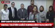 """""""Anayasa Teklifinin Kabülü Demokrasiden..."""