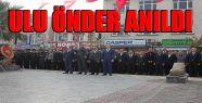 Atatürk Vefatının 78. Yılında Anıldı