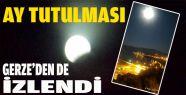 Ay Tutulması, Gerze'de İlgi Çekici Manzara...