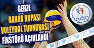 Bahar Kupası Voleybol Turnuvası Fikstürü...