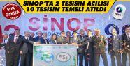 Bakan Eroğlu Sinop'ta Toplu Açılış Yaptı