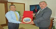 Başkan Belovacıklı'dan Vali Cirit'e Hayırlı Olsun Ziyareti