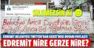 Belediye Edremit'te Zannetti, Gerze'de Çıktı