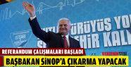 Binali Yıldırım Sinop'a Geliyor