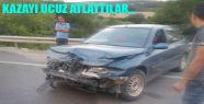 Boyabat Yolunda Yaralanmalı Kaza