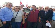 CHP Gerze İlçe Teşkilatı adalet yürüyüşüne...