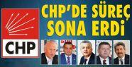 CHP'de süreç sona erdi