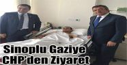 CHP'den Sinoplu Gaziye Ziyaret