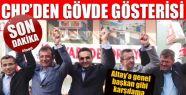 CHP'li Altay'a genel başkan gibi karşılama