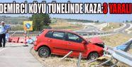 Demirci Köyü Tünelinde Kaza