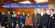 Emniyet Teşkilatından Vali Çetinkaya'ya Ziyaret