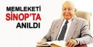Erbakan Hoca Memleketi Sinop'ta Anıldı