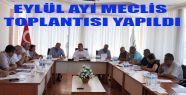 Eylül Ayı Belediye Meclis Toplantısı...