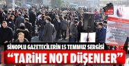 Gazetecilerin 15 Temmuz Şehitleri Sergisi...