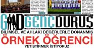 """GENÇ DURUŞ"" YAYIN HAYATINA BAŞLADI"
