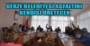 Gerze Belediyesi Asfalt Malzemesini Kendisi...