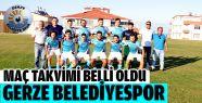 Gerze Belediyespor Maç Takvimi 2016-2017...