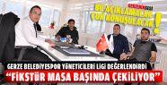 Gerze Belediyespor Yöneticileri Ligi Değerlendirdi