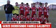 Gerze Gücü: 8 Gerze Belediye Spor: 1