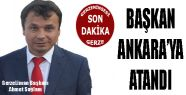 Gerze Liman Başkanı Ahmet Sağlam Ankara'ya...