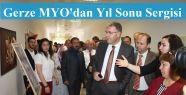 Gerze MYO'da Yılsonu Sergisi