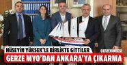 Gerze MYO'dan Ankara'ya Çıkarma