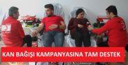 Gerze MYO'dan Kan Bağışı Kampanyasına Tam Destek