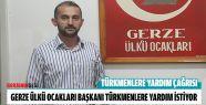 Gerze Ülkü Ocakları'ndan Türkmenlere...