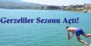 Gerze'de Deniz Sezonu Açıldı
