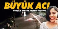 Gerze'de feci kaza; 19 yaşındaki genç...