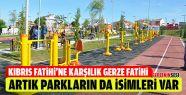 Gerze'deki Tüm Parklara İsim Verildi