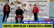 Gerzeli Judocular 4 Madalyayla Döndü
