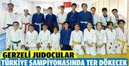 Gerzeli Judocular Türkiye Şampiyonasında...