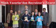 Gerze'nin Minik Yazarları Kaymakam Bayraktar'ı...