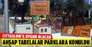 Gerze'nin Parklarına El Yapımı Ahşap...