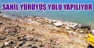 Gerze'ye Sahil Yürüyüş Yolu Yapılıyor