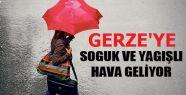 Gerze'ye Soğuk ve Yağışlı Hava Geliyor!