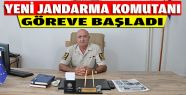 Gerze'ye Yeni Jandarma Komutanı