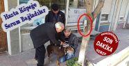 Hasta Köpeğe Serum Taktılar...