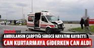 Hasta Taşıyan Ambulans Kaza Yaptı: 1...